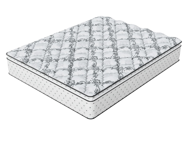 Матрас Verda Support Pillow Top, чехол Silver Lace