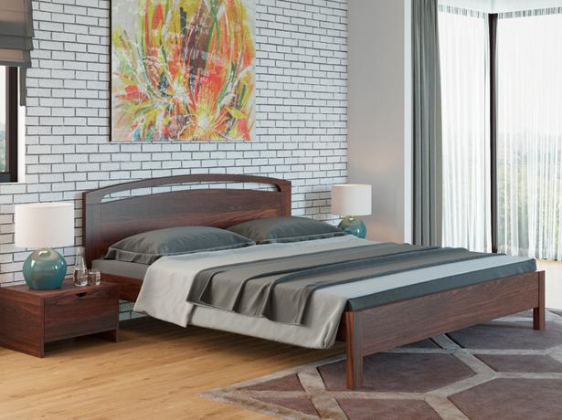 Кровать Веста 1R Тахта сосна венге