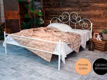 Кровать Francesco Rossi Афина с одной спинкой
