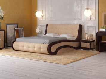 Кровать Leonardo с ПМ в ткани