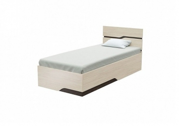 Односпальная кровать Wave Line